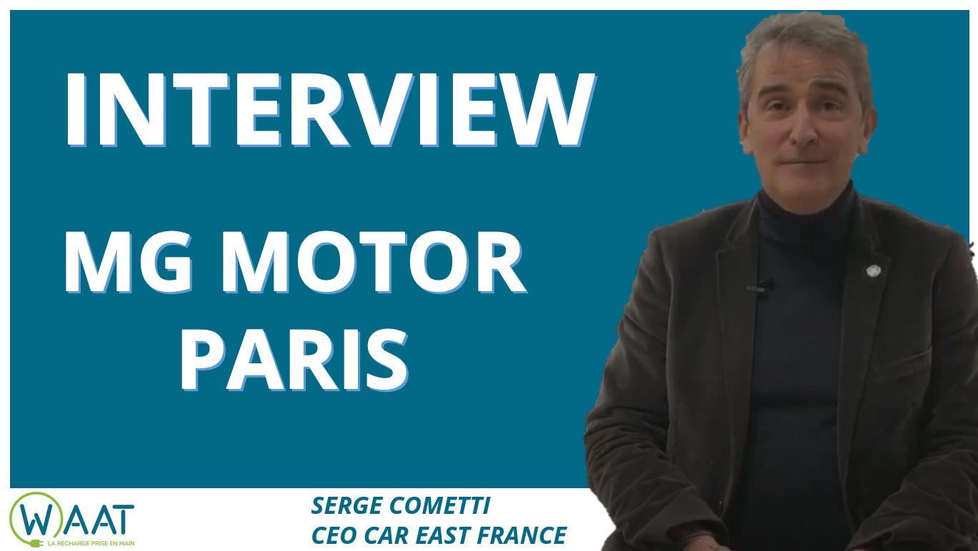 Interview MG Motor Paris