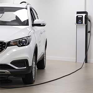 Recharge électrique concession automobile