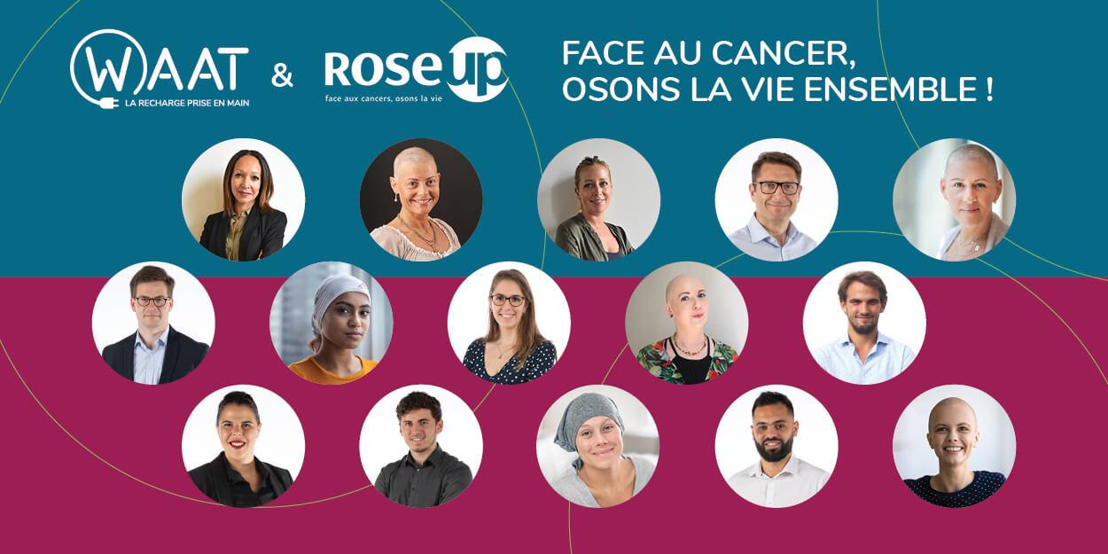 Waat soutient rose up face au cancer